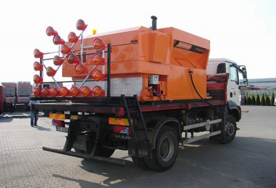 Proyectadores de asfalto Patcher
