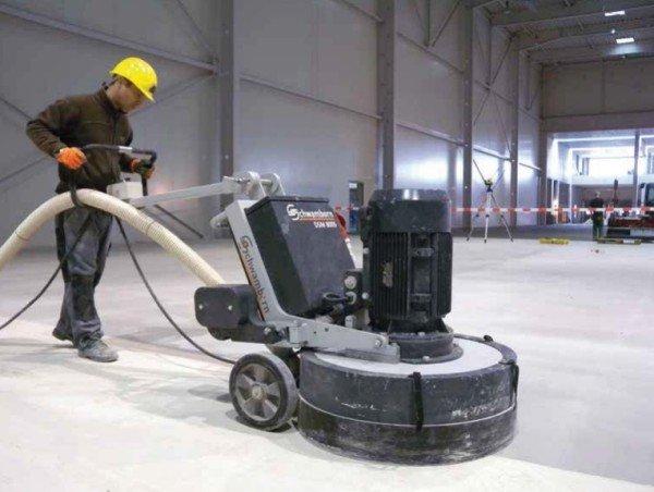Pulidoras de hormigón: para qué se usan y cómo trabajan
