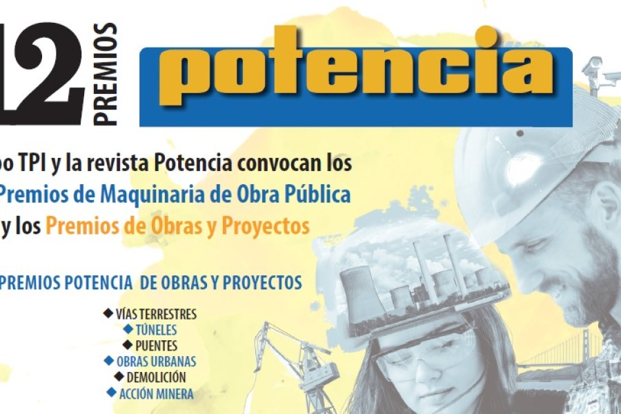 Maquinter patrocina los premios Potencia de maquinaria de OP e ingeniería civil