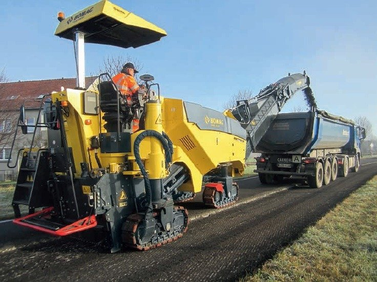 Tipos de firmes de carreteras y su aptitud de fresado