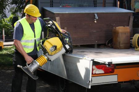Pisones Bomag: robustos, seguros y fiables