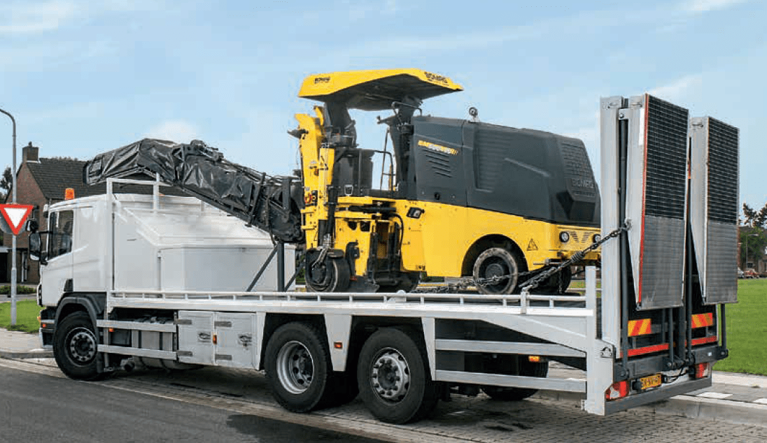 Cómo transportar la máquina fresadora de forma segura